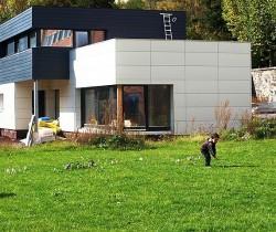 vila duplex lemn