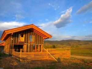 casa de lemn Harghita